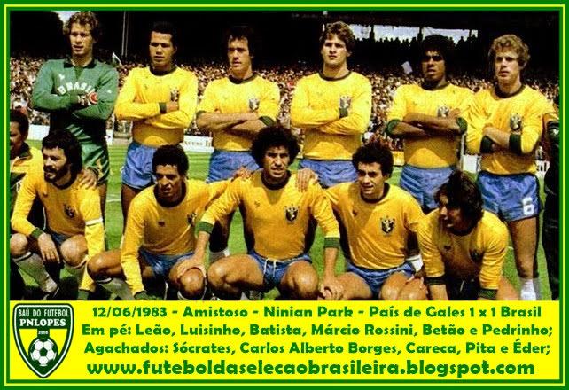 Seleção Brasileira Jogos Da Seleção Brasileira Em 1983 Seleção Brasileira Seleção Brasileira De Futebol Masculino Seleção Brasileira De Futebol