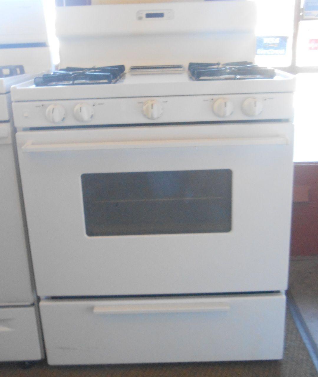 Appliance City - KENMORE GAS RANGE 30 INCH FREE STANDING 4 BURNER ...