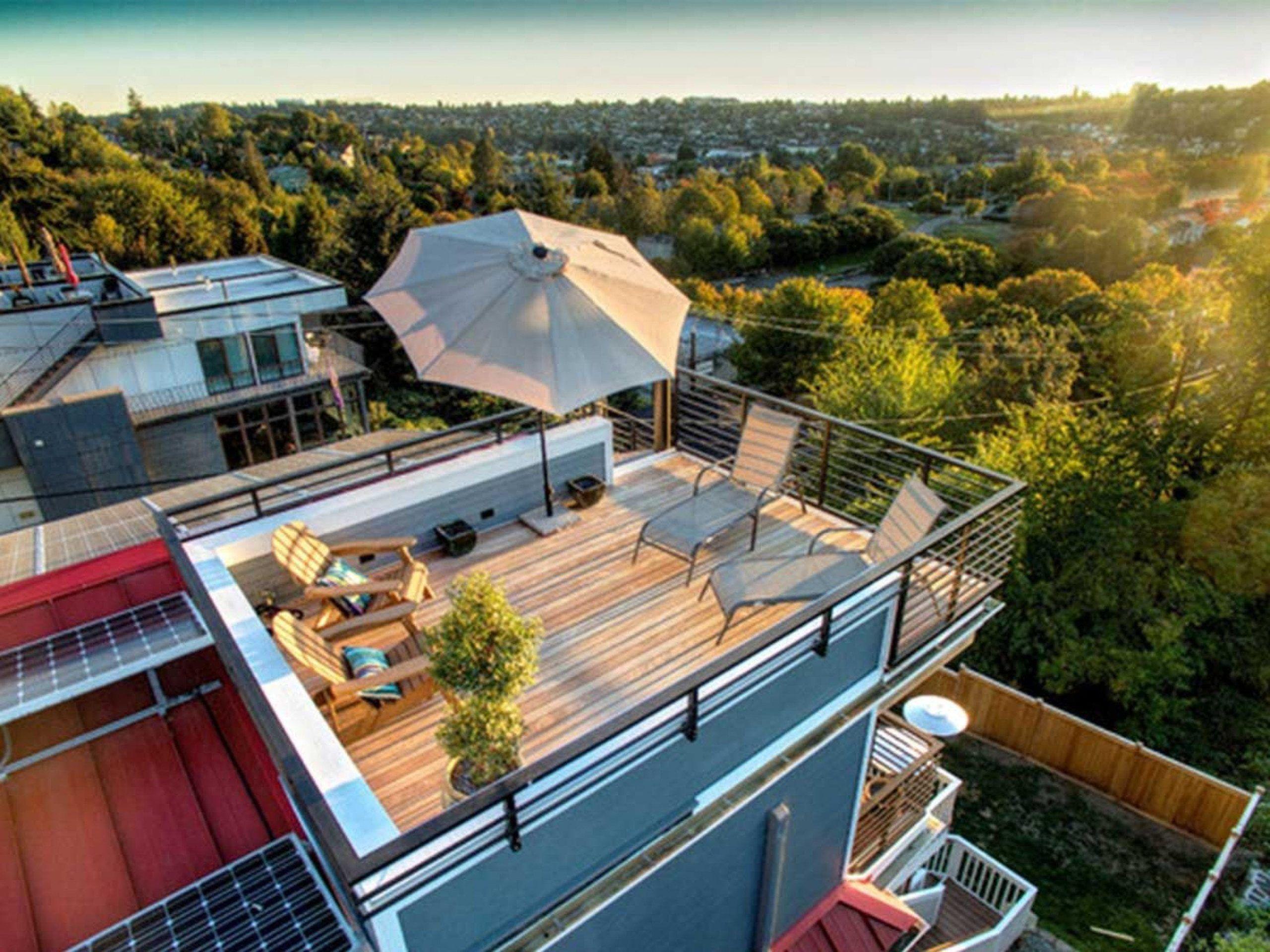 Desain Rumah Minimalis Dengan Rooftop Rumah Minimalis Desain Rumah Rumah