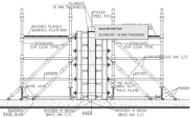 Wall Formwork Open House Plans House Plans Architecture House
