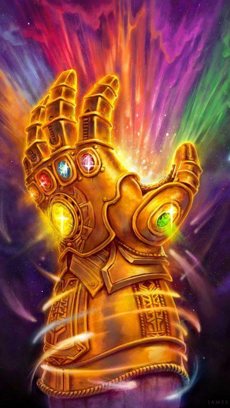 Infinity Gauntlet Art Iphone Wallpaper Free Getintopik Marvel Art Marvel Wallpaper The Infinity Gauntlet