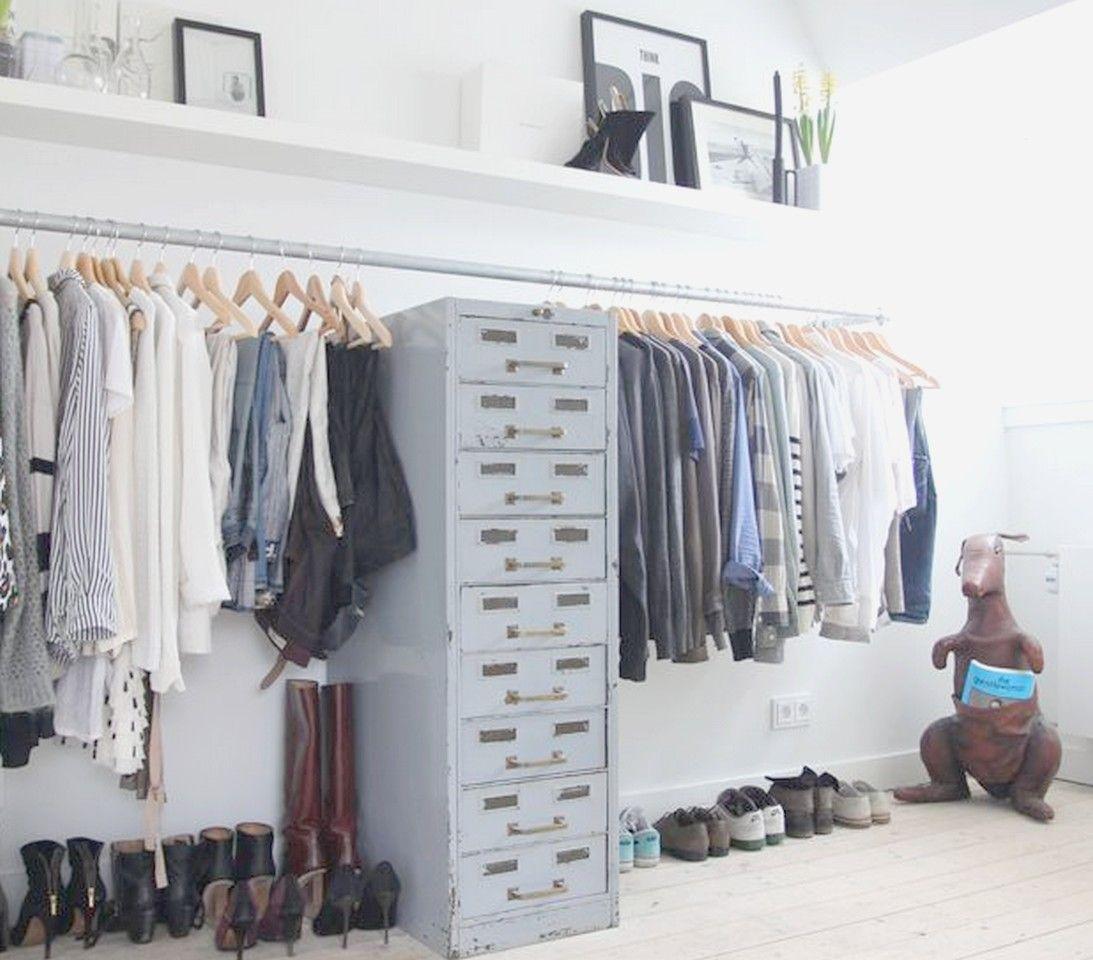 las 15 mejores ideas para un dormitorio con vestidor abierto - Vestidor Abierto