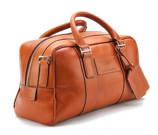 Aston Martin Saddle Leather Holdall Small In Tan Saddle Leather Exclusively Designed By Aston Mar Leather Holdall Genuine Leather Bags Leather Luggage Set