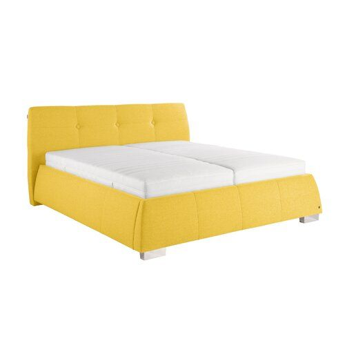 Photo of Tom Tailor bed Classic Button with mattress | Wayfair.de