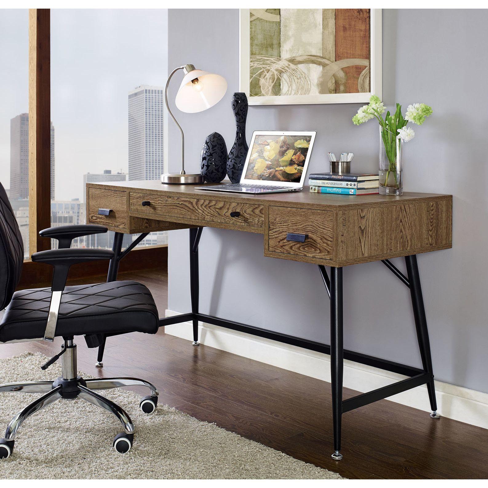 Modway Surplus Keyboard Tray Writing Desk Office Pinterest