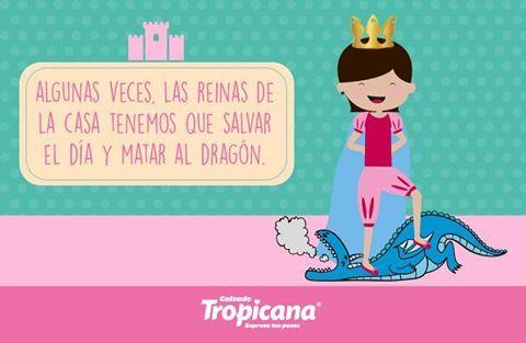 Algunas veces, las reinas  de la casa tenemos que salvar el día y marcar al dragón ✨  #Calzado #Tropicana