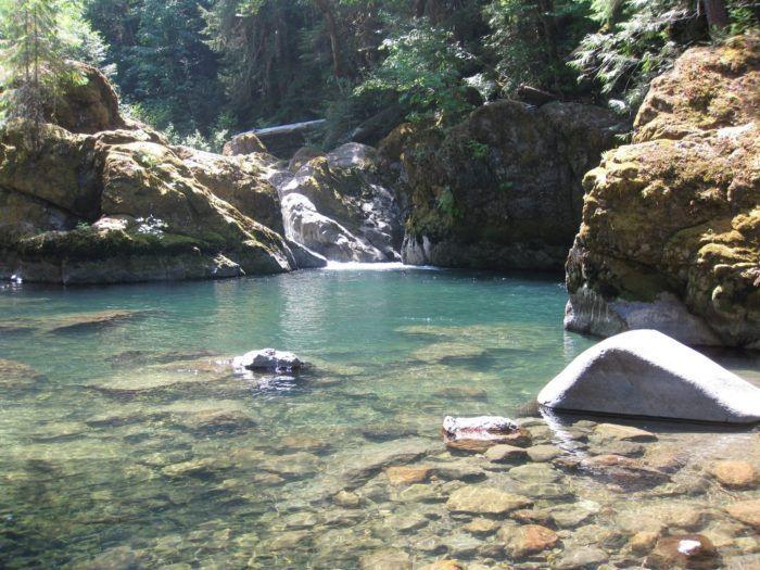 Bell Hiking Tail to Wet Beaver Creek: perfect Splash Canyon.