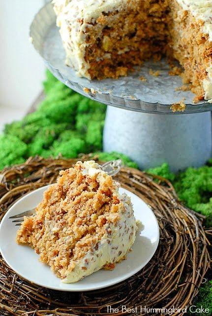 This Best Hummingbird Cake Recipe Combines Flavors Of Banana Bread