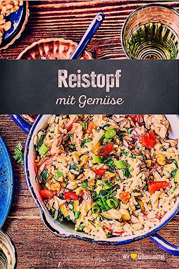 Mithilfe unseres Reistopf-Rezepts bereitest du ein leichtes, dennoch ungemein aromatisches Gericht f...