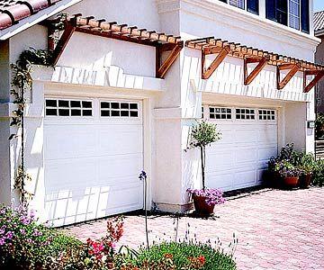 Great Garage Doors Garage Doors Garage Trellis Pergola