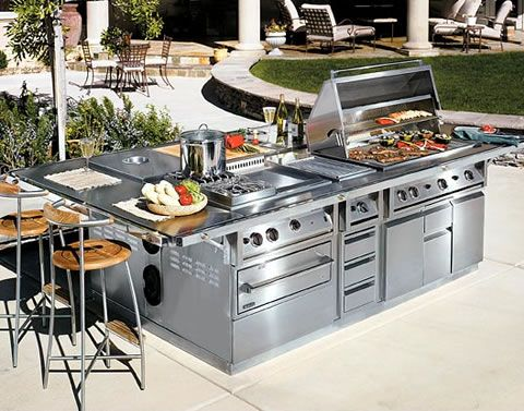 Top 10 Coolest Bbq Grills And Then Some Outdoor Kitchen Best Outdoor Grills Bbq Grills