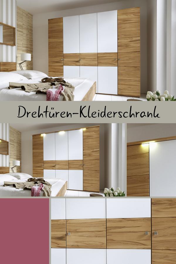 Schranksystem Mit Drehturen Aus Kernbuche Divari Schranksystem Schrank Kleiderschrank