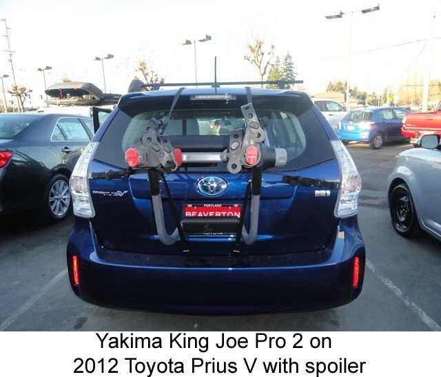 Will Yakima Kingjoe Pro 3 Bike Rack Y02625 Fit On 2017 Toyota Prius V With