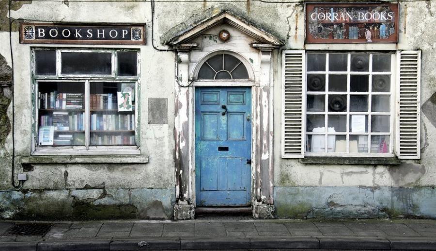 Old blue door. 6. Vellichor : The strange wistfulness of used bookshops. - 6. Vellichor : The Strange Wistfulness Of Used Bookshops. Book