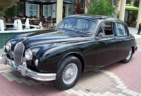 1958 jaguar sedan