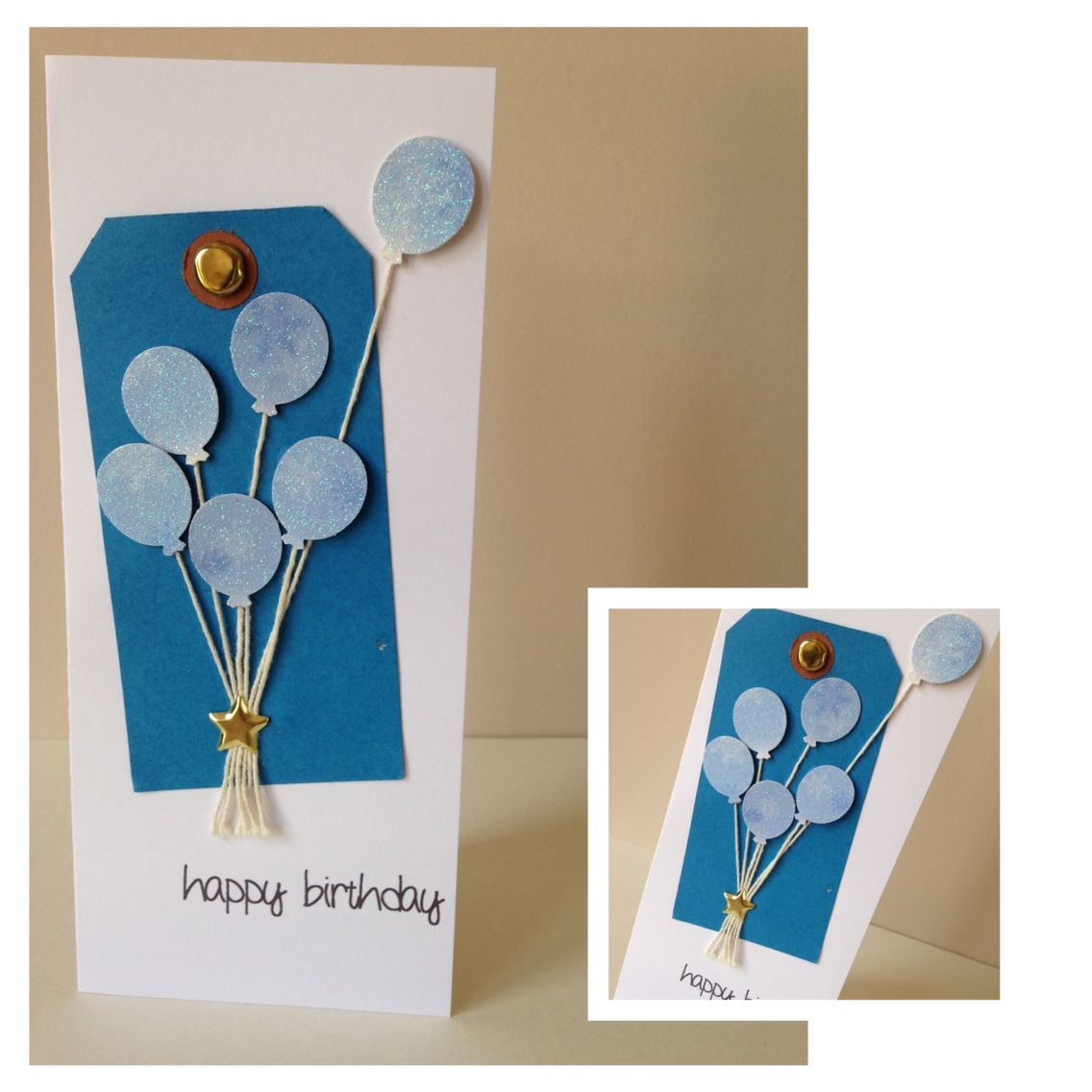 Balloon birthday jcreations handmade birthday cards pinterest
