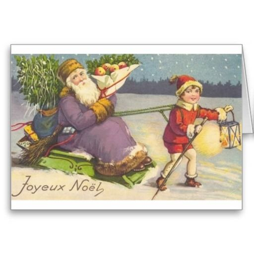 Vintage french christmas greeting card french christmas christmas vintage french christmas greeting card m4hsunfo