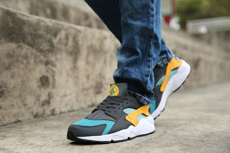 a521a3910a28 Nike Air Huarache Catalina Hyper Jade Gold On Feet