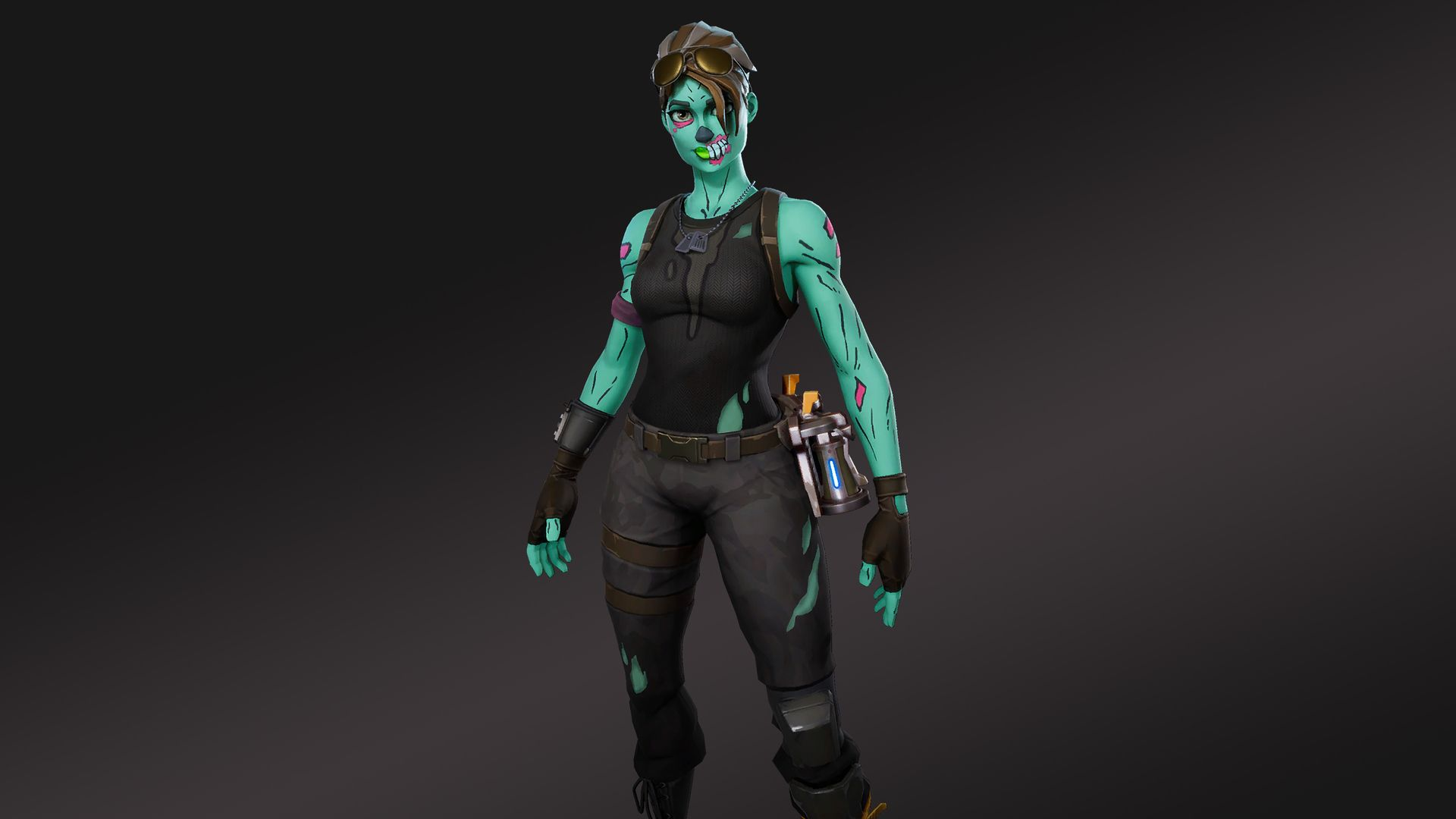 1920x1080 Hd Wallpaper Of Ghoul Trooper Fortnite Battle Royale Video Game Ghoul Trooper Battle Royale Game Trooper