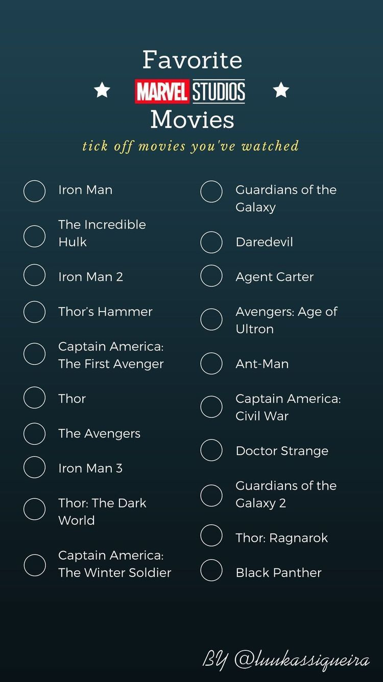 Pin By Frederick Estares On Movies To Watch Marvel Studios