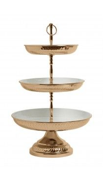 Nordal Deluxe Copper 3 Tier Cake Stand Copper Pinterest Mobel