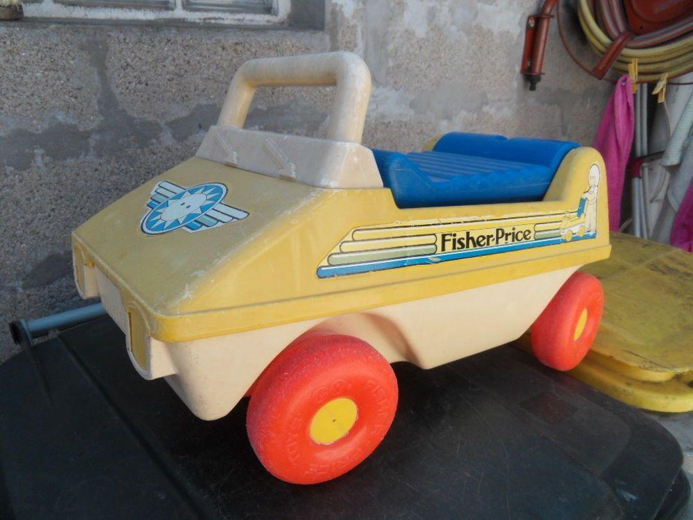 Détails sur ancien jouet 70's vintage fisher