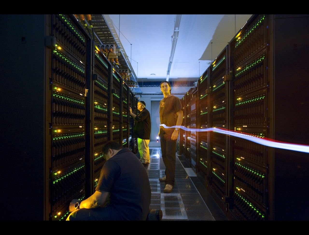 Picture Of The Weta Digital Data Center In New Zealand A 10 000