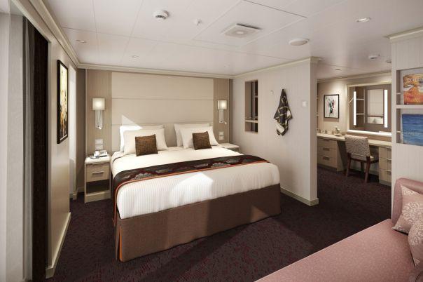 Koningsdam S Signature Suites Feature A Stunning Design Holland America Holland America Line Best Cruise Lines