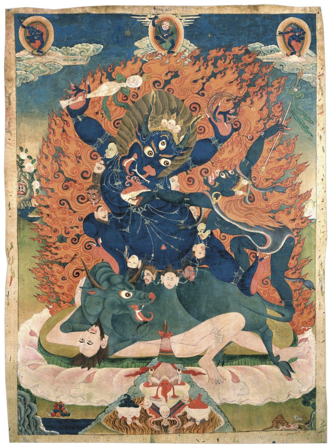 яма индуизм картинки круглой кокетки