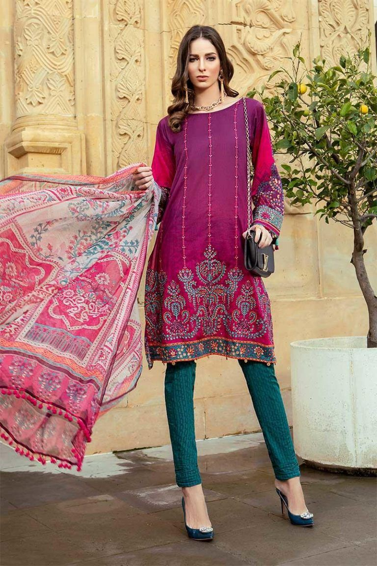 cd6df7519b Maria B Lawn Collection 2019 Best Pakistani Designer Summer Dresses ...