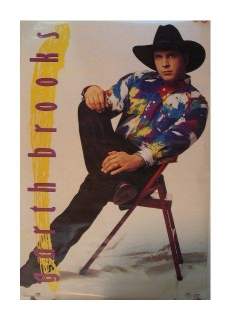 garth brooks poster early 1990s garth