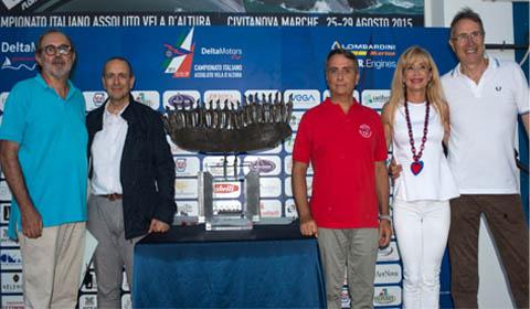 CS Vela FIV - La cerimonia di apertura del Campionato Italiano Assoluto di vela d'altura