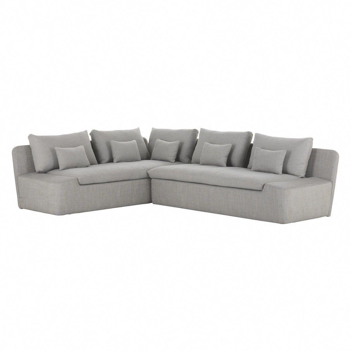 Gray Corner Sofas Lead You To Trendy Fashionable World Grey Corner Sofa Light Grey Leather Couch Corner Sofa