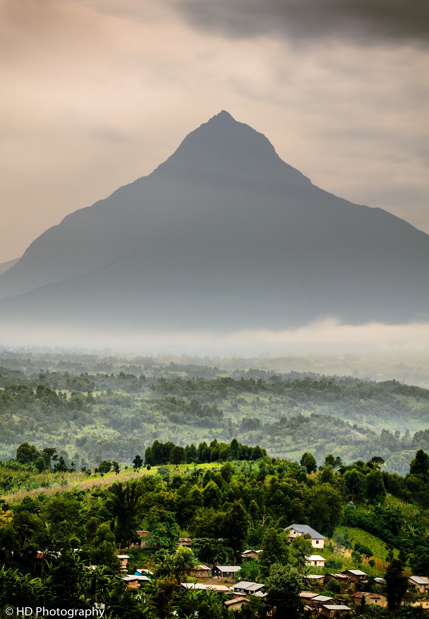 Gorilla Peak The Mikeno Mountain In Virunga National Park Eastern Drc Still Home Of The Enda Africa Travel Democratic Republic Of The Congo National Parks