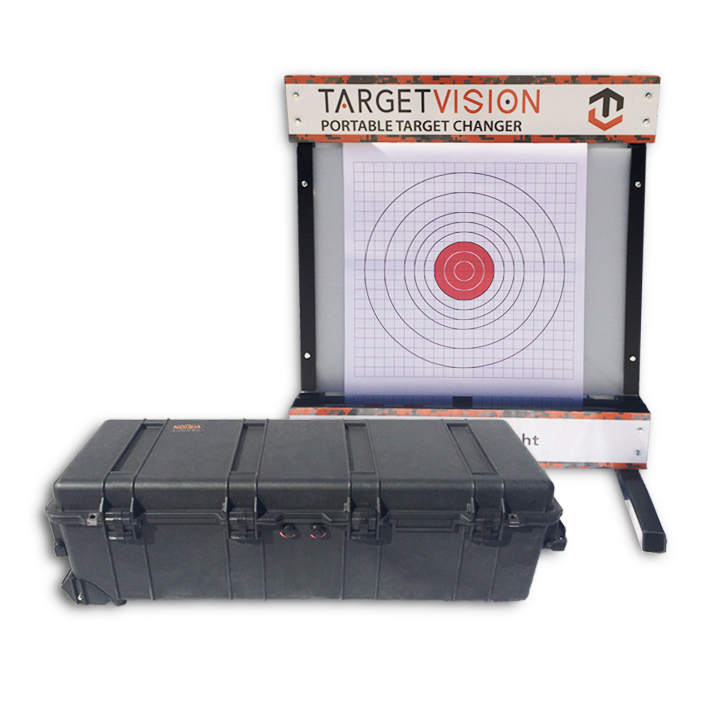 Portable Remote Target Changer with Pelican Case
