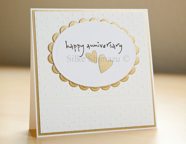 picture regarding Free Printable Anniversary Cards for Parents called 50th Anniversary Card Cricut Strategies 50th anniversary