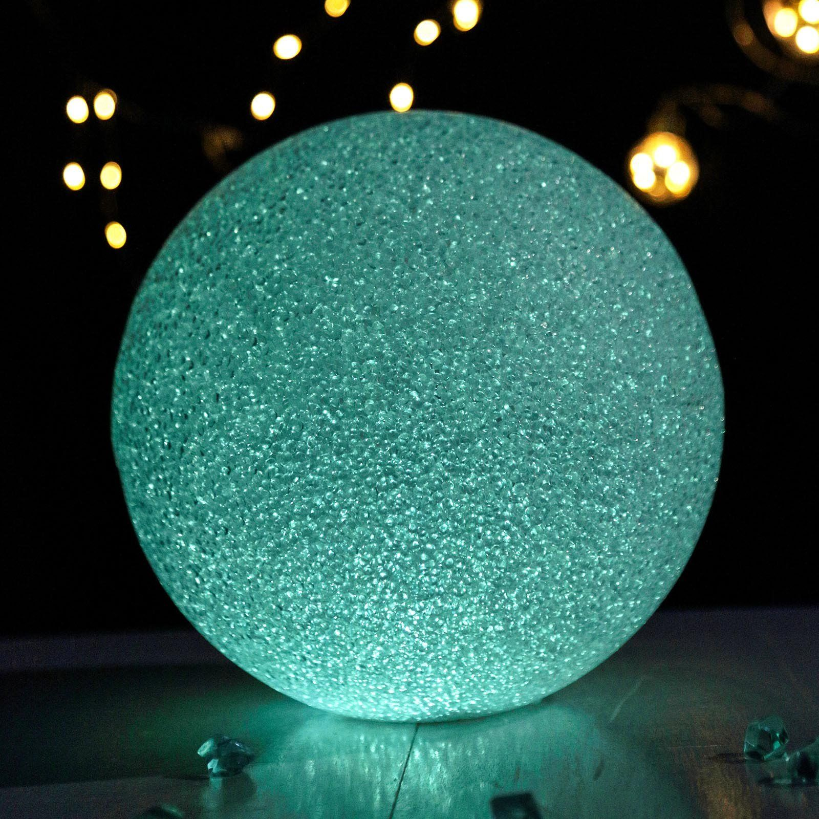 10 Color Changing Portable Led Centerpiece Ball Lights Battery Operated Led Orbs In 2020 Led Ball Lights Ball Lights Christmas House Lights