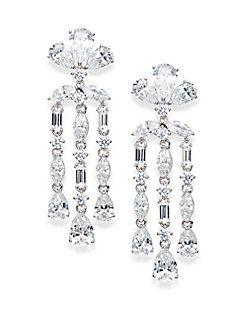Triple Teardrop Chandelier Earrings | Jewelry | Pinterest ...