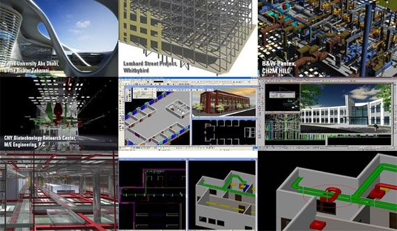 AECOsim is an exclusive BIM package to create any building