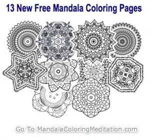 Mandala Coloring Pages | Best Mandala coloring, Art therapy and ...