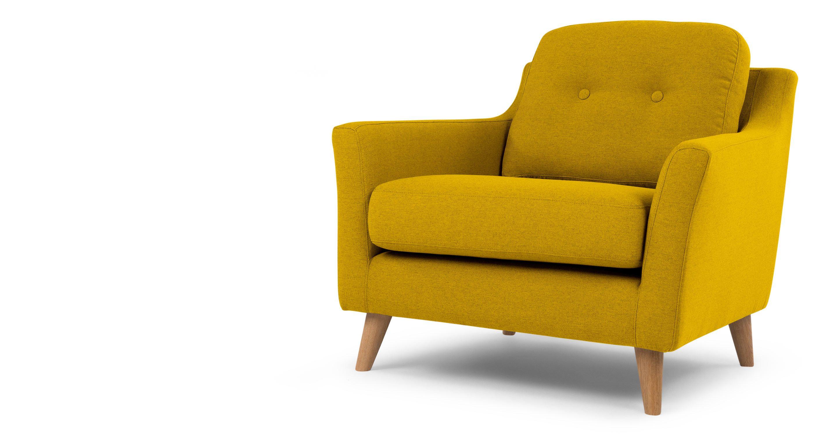 mustard yellow furniture. Rufus Armchair, Mustard Yellow | Made.com Furniture