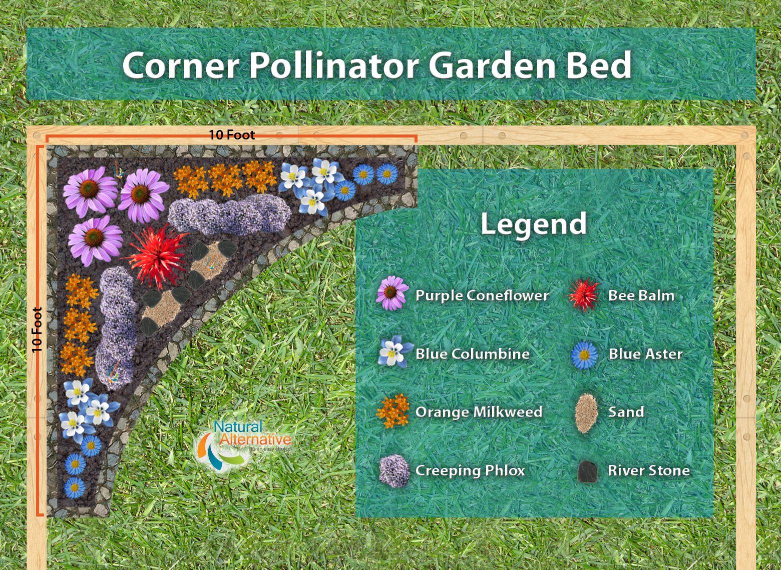 How To Build A Pollinator Garden Pollinator Garden Plans