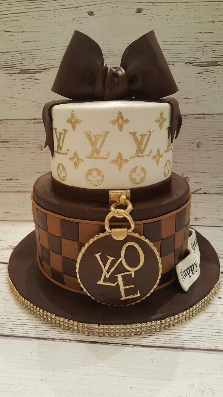 Louis Vuitton Themed Cake Www Rachelscakesli Com Www Facebook Com