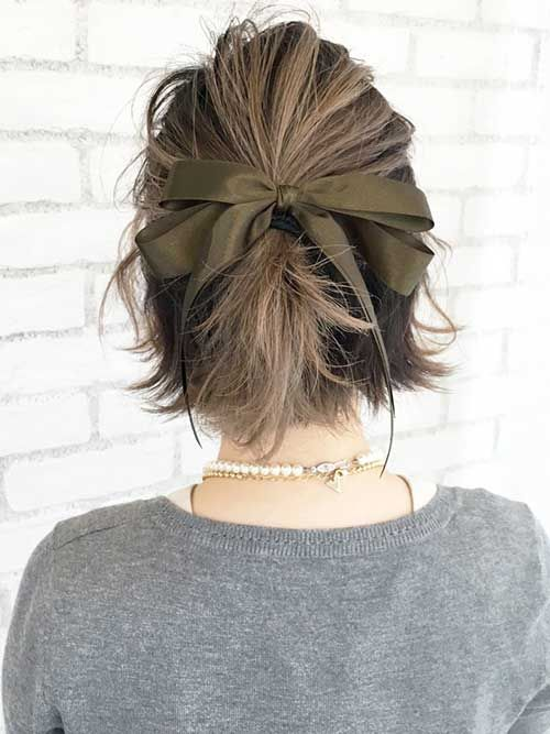 15 Special Updos For Short Hairstyles H A I R Pinterest Hair