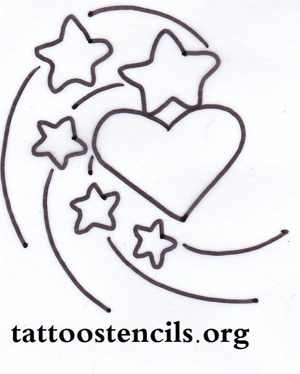 Pin By Annette Argent On Dibujos Star Tattoos Henna Tattoo Designs Heart Tattoo