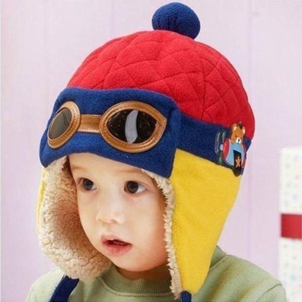 025ac4961e  3.32 - Aviator Girls Boys Pilot Cap Warm Winter Kids Baby Toddler Hat  Beanie Earflap  ebay  Fashion
