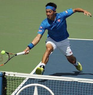 Blog Esportivo do Suíço:  Nishikori comete apenas 7 erros e derruba Karlovic no US Open