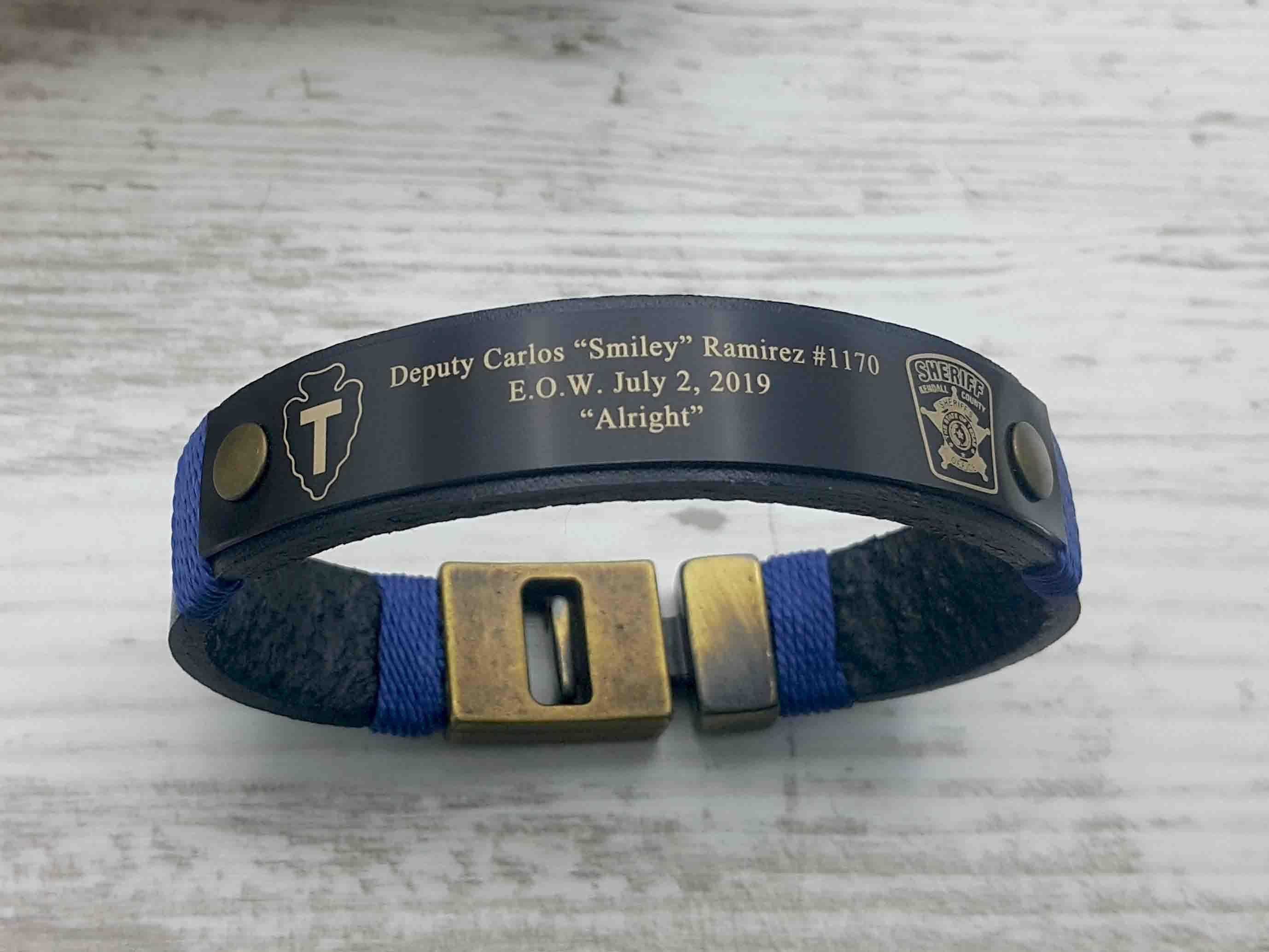 Police Officer Bracelet