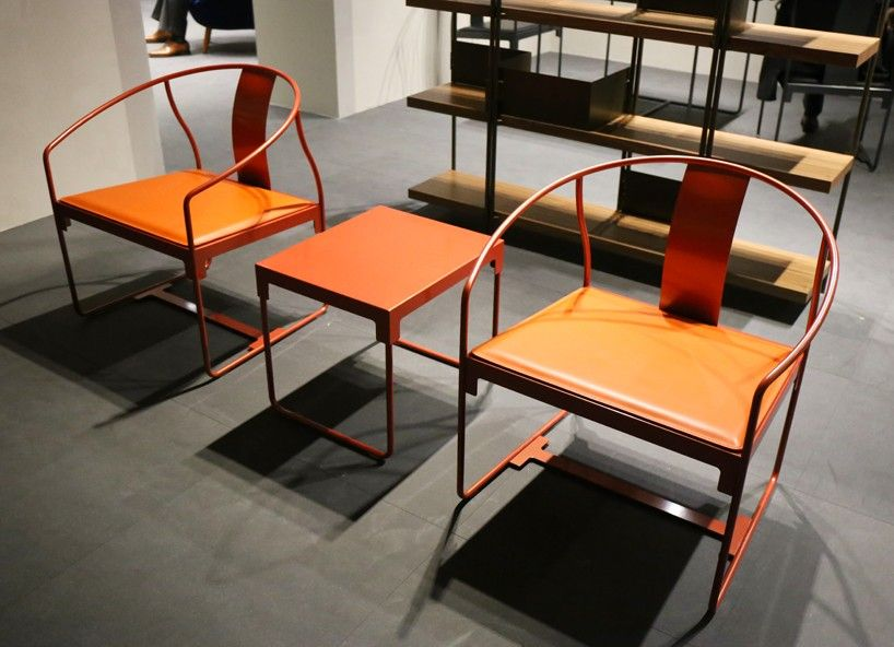 konstantin grcic's 'mingx' collection for driade on show at salone del mobile 2016
