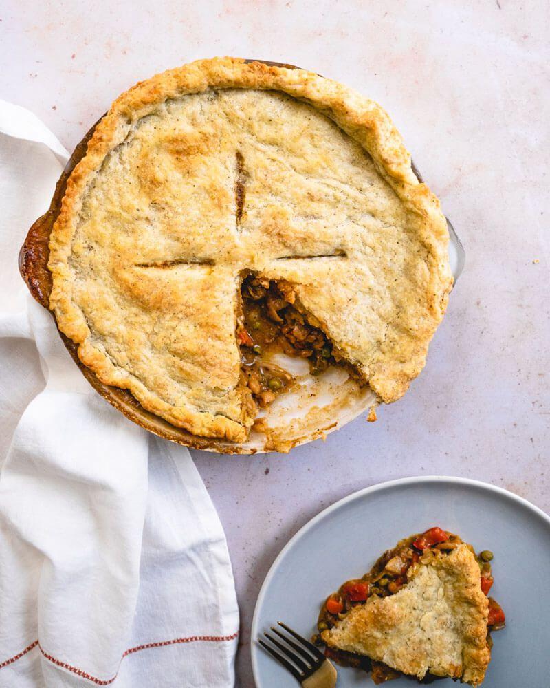 Cozy Vegetarian Pot Pie – A Couple Cooks